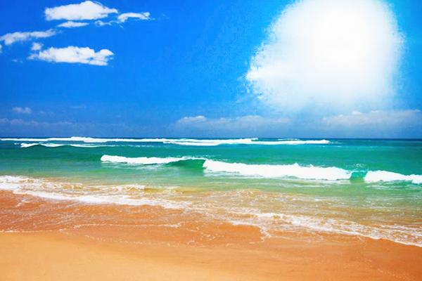 Biển Khai Long đầy nắng gió