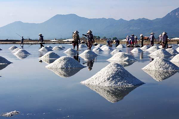Vựa muối Sa Huỳnh