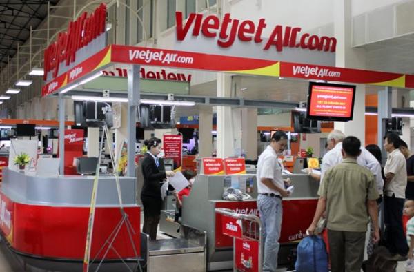 Phí đổi tên vé máy bay Vietjet
