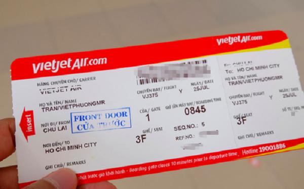 Cách làm thủ tục lên máy bay Vietjet
