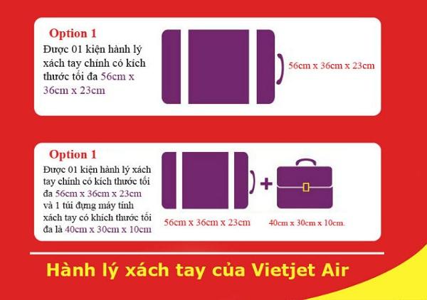 Hành lý xách tay Vietjet