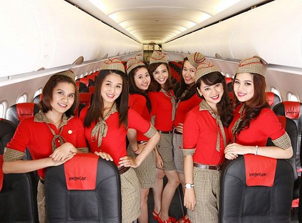 Tiếp viên hàng không Vietjet Air