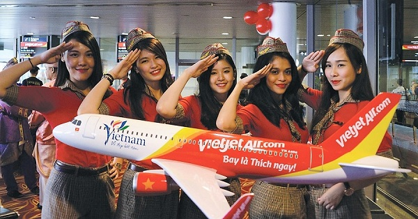 Vé máy bay đi Cần Thơ Vietjet