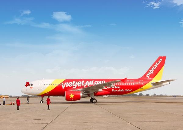 Vé máy bay đi Đồng Hới Vietjet