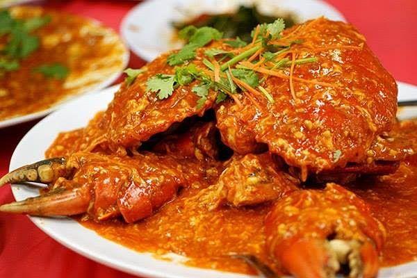 Cua sốt ớt (chili crab)