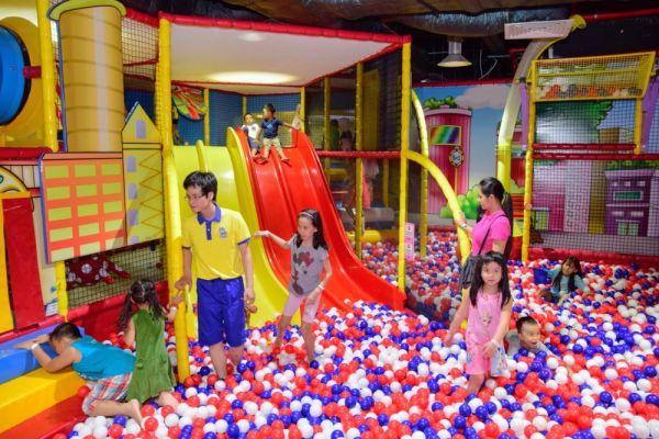 Khu vui chơi cho trẻ em ở Sài Gòn