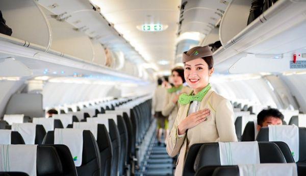 Tiếp viên xinh đẹp của Bamboo Airways