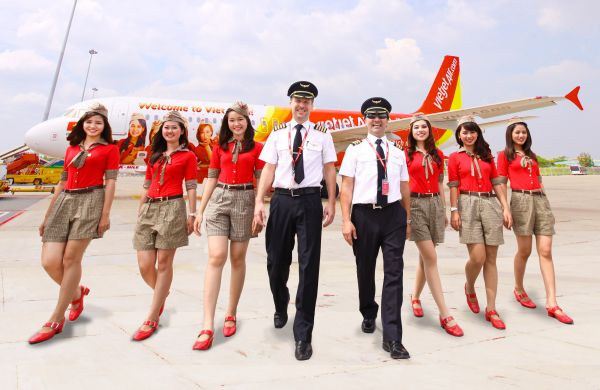 Vietjet là hãng hàng không giá rẻ với rất nhiều chương trình khuyến mãi chỉ từ 0 đồng