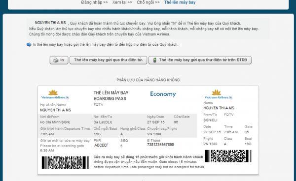 Thẻ lên máy bay là gì?