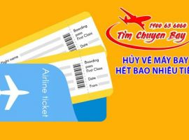 Hủy vé máy bay như thế nào?